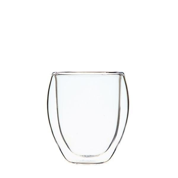 Double Wall Glass Cup 200ml  Image - Tchaba