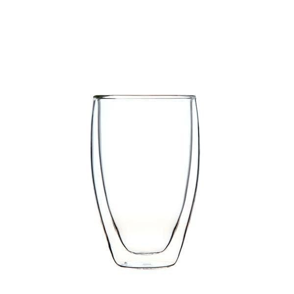Double Wall Glass Cup 400ml  Image - Tchaba