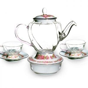 Fusion Rose Tea Set  Image - Tchaba