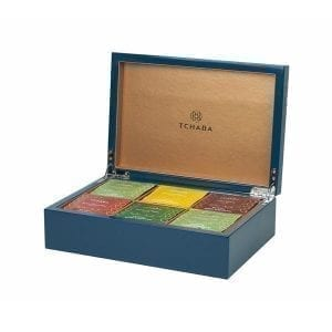Luxury Tea Box Blue  Image - Tchaba