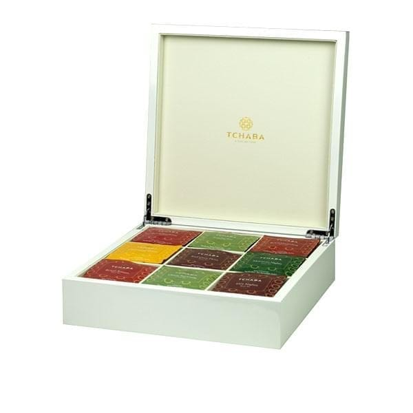 Luxury Tea Box White  Image - Tchaba