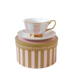 Teacup Stripe Blush  Image - Tchaba