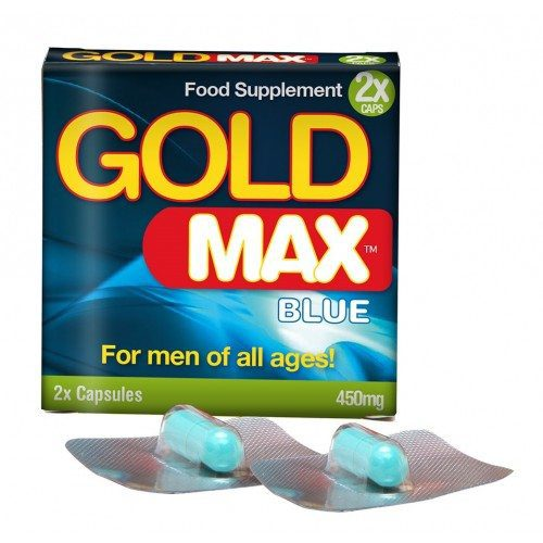 Gold Max Blue Male Enhancement Capsules