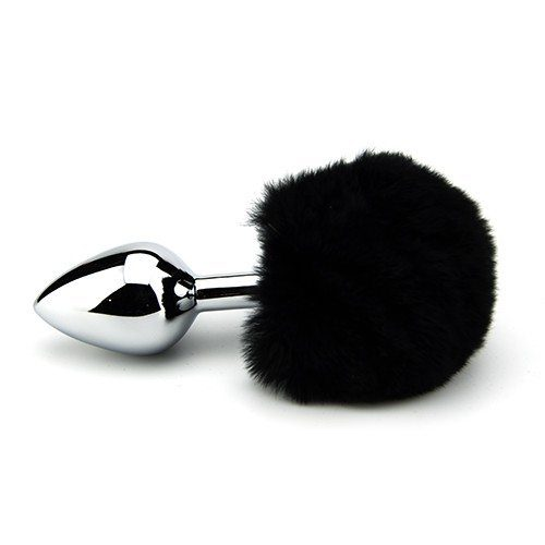 Black Tail Buttplug