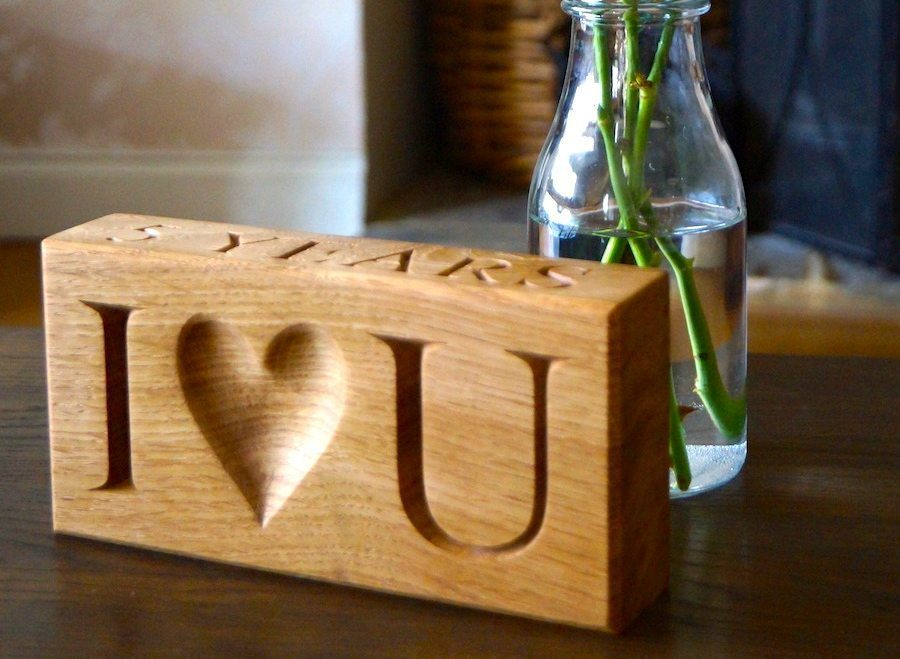 5th Wedding Anniversary Wooden Gift Ideas from MakeMeSomethingSpecial.com