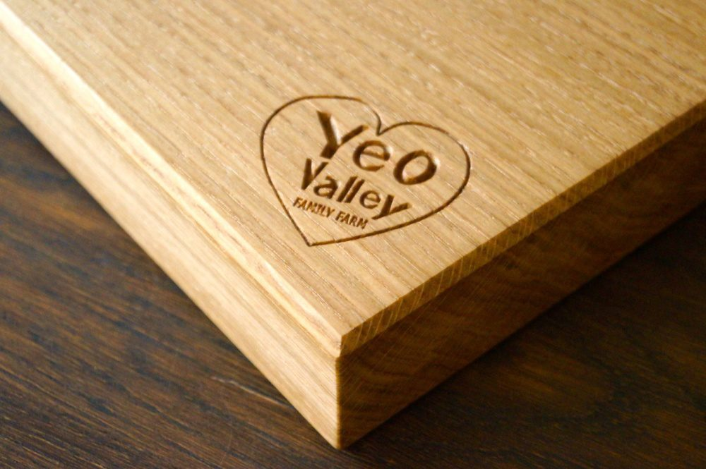 Yeo Valley Personalised Chopping Boards from MakeMeSomethingSpecial.com