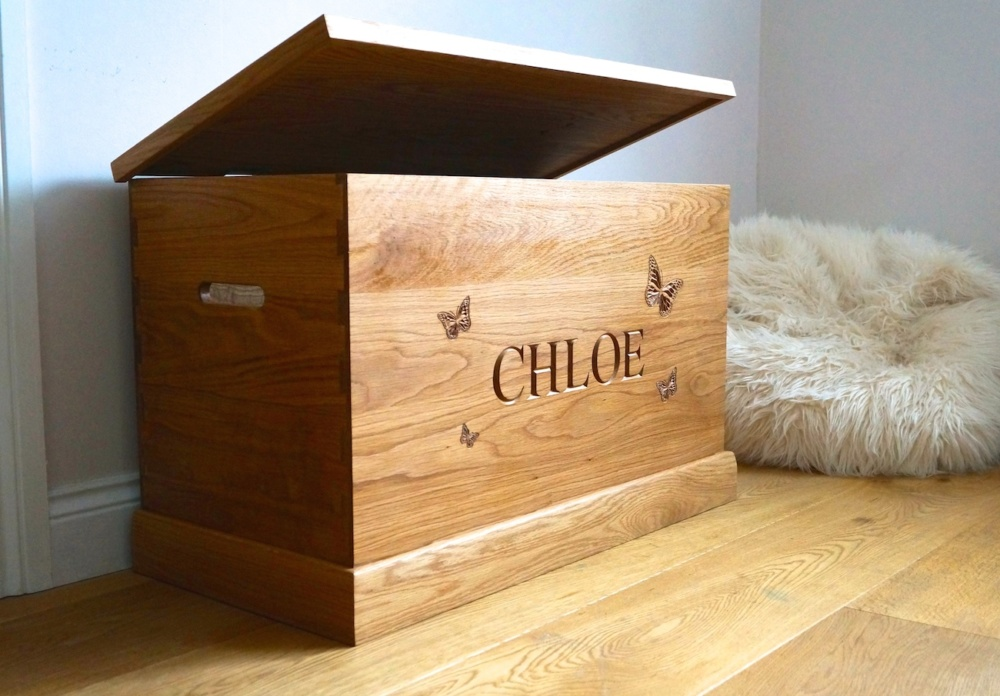 unique-christmas-gifts-for-christmas-2018-personalised-wooden-toy-box-with-butterfly-makemesomethingspecial.co_.uk_