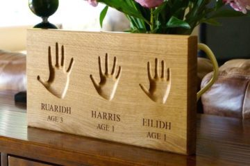 Engraved Hand Impressions