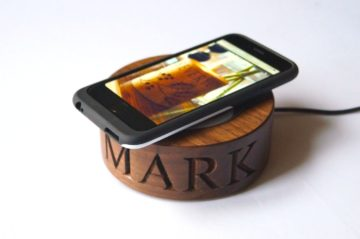 Wooden Wireless Phone Chargers