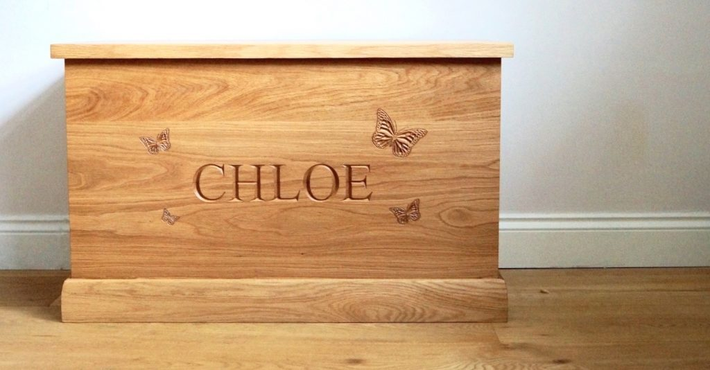 Children Toy Box Personalised from MakeMeSomethingSpecial.com