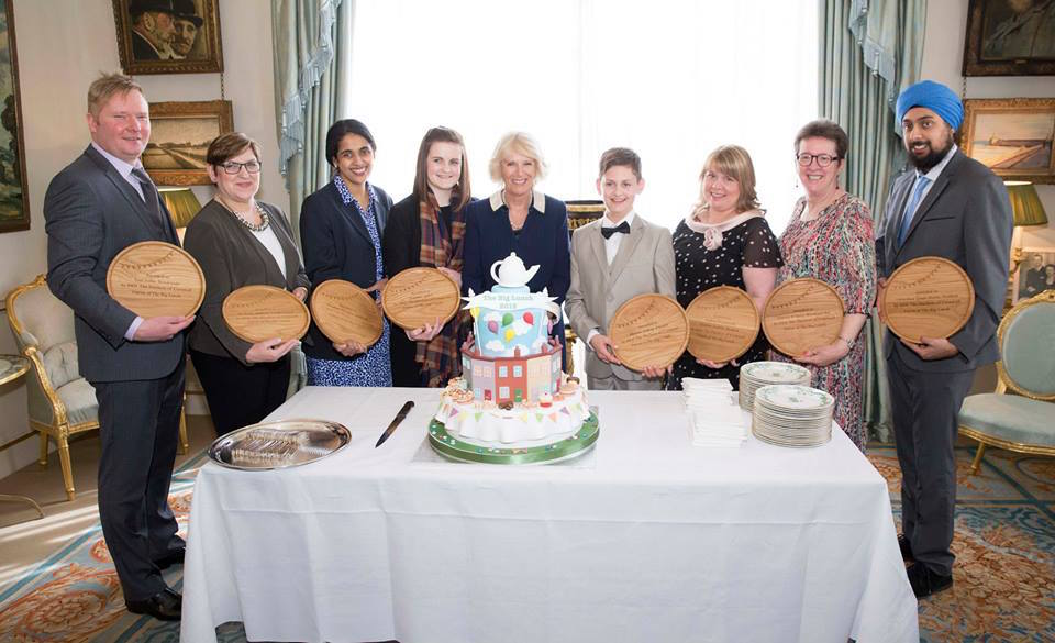 engraved-wooden-awards-the-big-lunch-duchess-of-cornwall-makemesomethingspecial-com