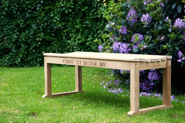 engraved-wooden-backless-bench-makemesomethingspecial.com