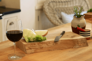 Live Edge Chopping Boards
